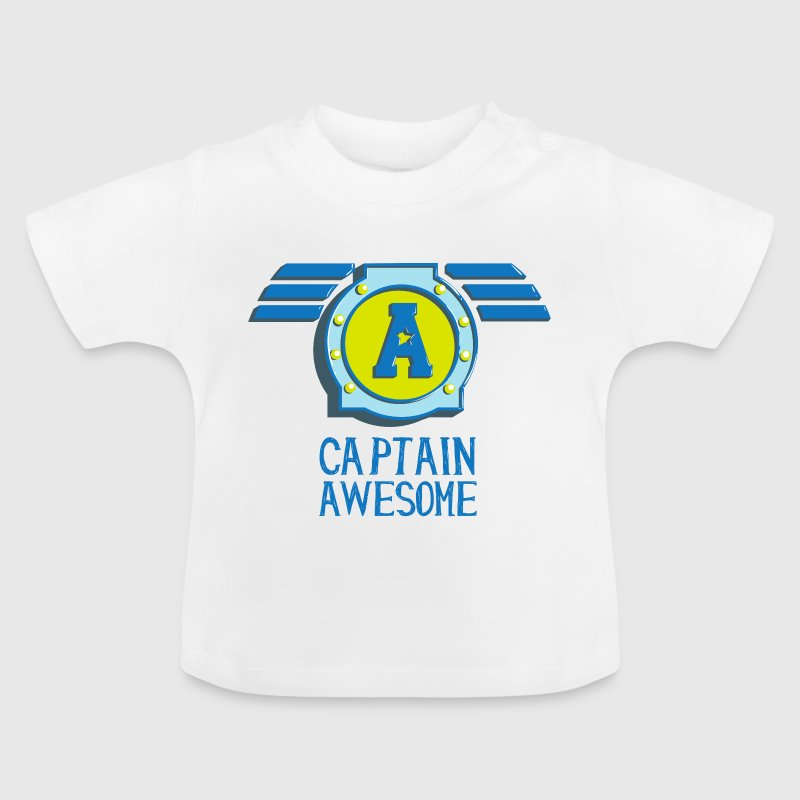 Captain awesome Captain geil self-consciously arrogant - Baby T-Shirt