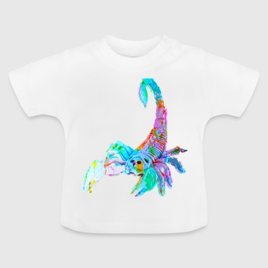 Bunter Skorpion - Baby T-Shirt