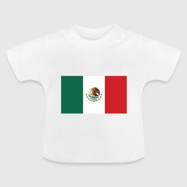 Drapeau national du Mexique - T-shirt Bébé