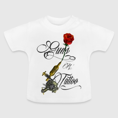 Guns n Tattoo - Baby T-shirt