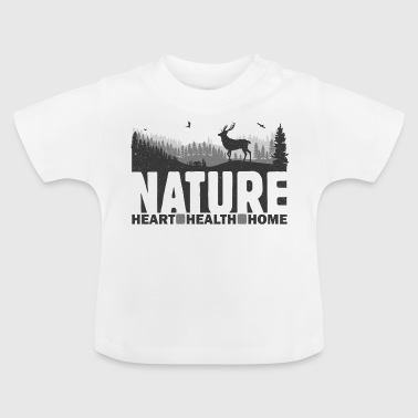 Nature Heart Health Home - Baby-T-shirt