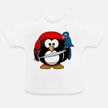 Duck Pirate Pirate Penguin - Baby T-Shirt