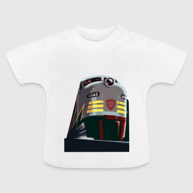 Trein van de Rocky Mountains - Baby T-shirt