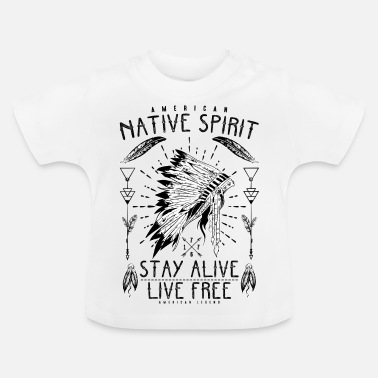 Indian Indianer indianer - Baby-T-shirt