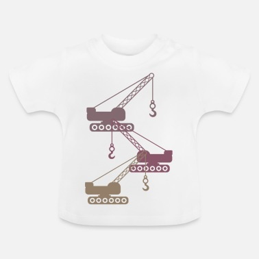Picture crane - Baby T-Shirt