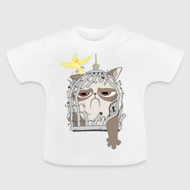 cat trap - T-shirt Bébé