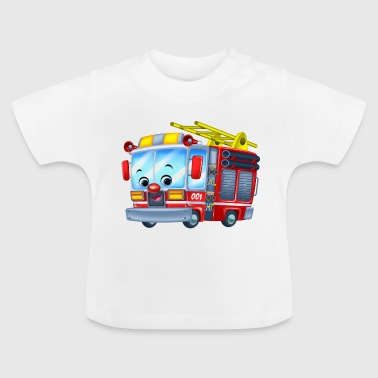 Firetruck Arthur Collection - Baby T-Shirt