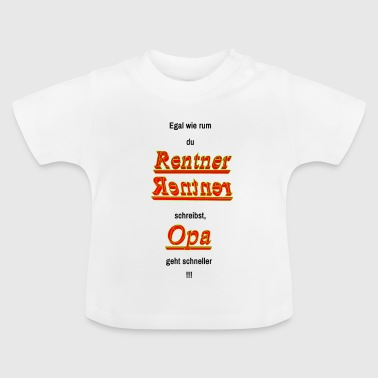 pensioner - Baby T-Shirt