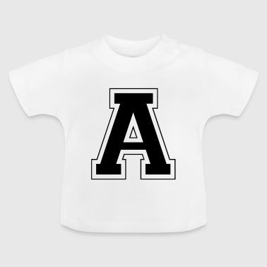 Letter A - Baby T-Shirt