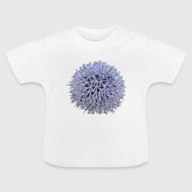 Large lilac flower - Baby T-Shirt