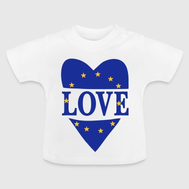 Love Europe - T-shirt Bébé