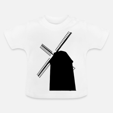 Windmolen windmolen - Baby T-shirt