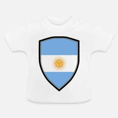 Shield ARGENTINE FLAG SHIELD - T-shirt Bébé
