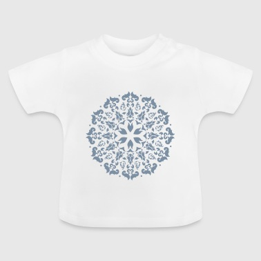 Flower silver - Baby T-Shirt