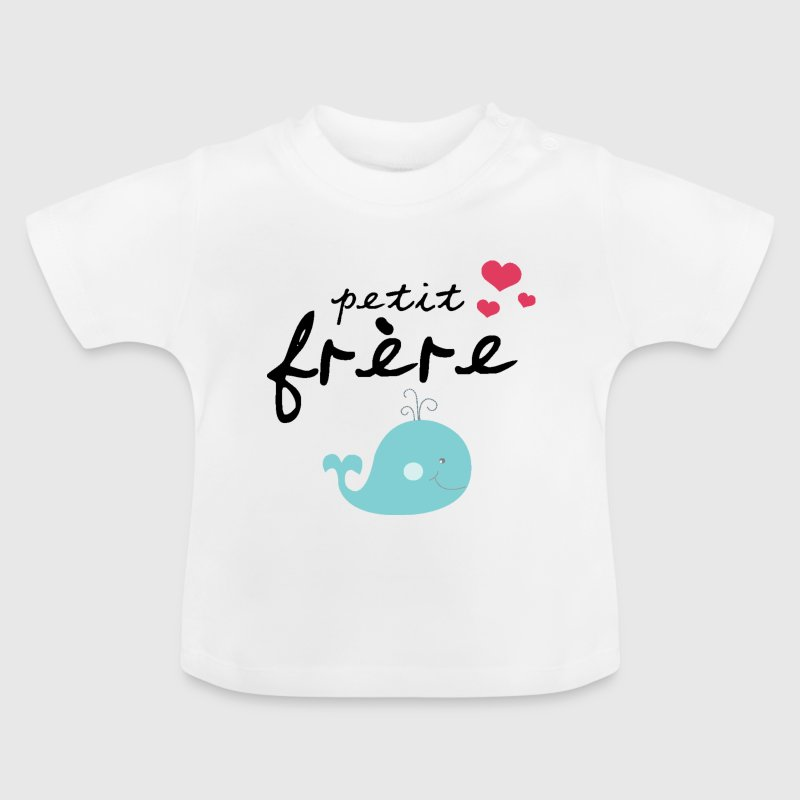 Petit Frère - Kleiner Bruder - Little Brother - T-shirt Bébé