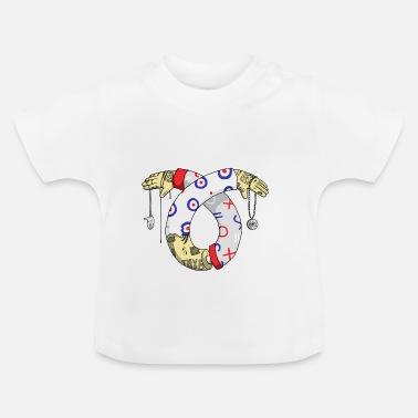 Tatoo tatoo illustration - Baby-T-shirt