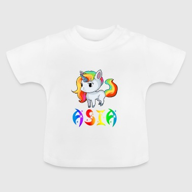 Unicorn Asien - Baby T-shirt
