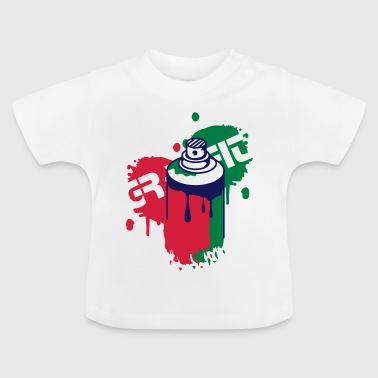 spray can Graffiti Style - Baby T-Shirt