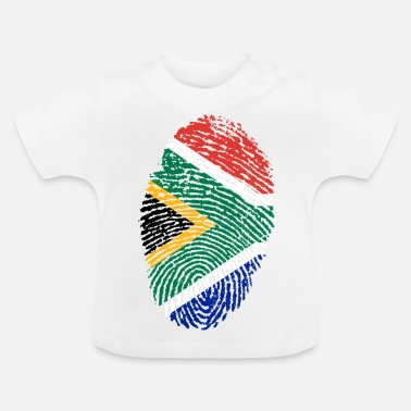 Africa Fingerprint - South Africa - Baby T-Shirt