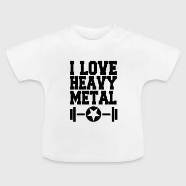 Fitness - Heavy Metal - Baby T-shirt