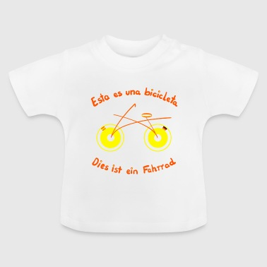 The bike in Spanish - Baby T-Shirt