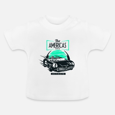 Muscle The Americas muscle car USA 1949 car racing tune - Baby T-Shirt