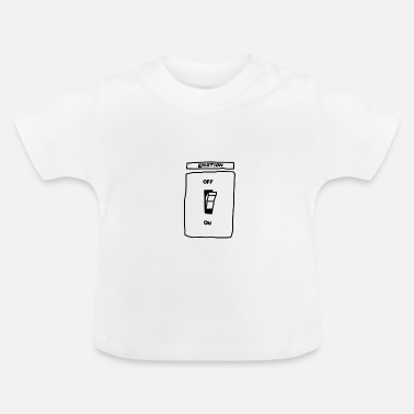 Emotion Ljusswitch Emotion On Off - Baby-T-shirt