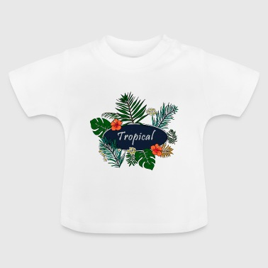 tropical - T-shirt Bébé