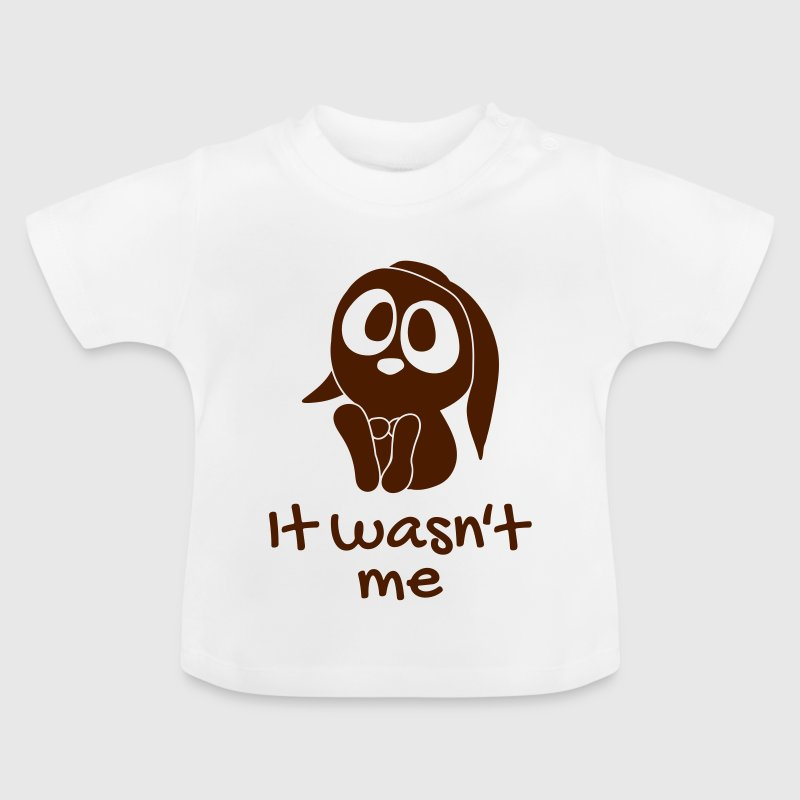 It wasnt me het was me niet - Baby T-shirt