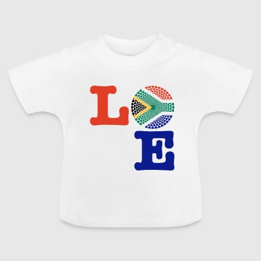 SOUTH AFRICA HEART - Baby T-Shirt