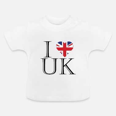 Uk Ik hou van UK - Baby T-shirt