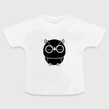 Owl pinches his eyes - Baby T-Shirt