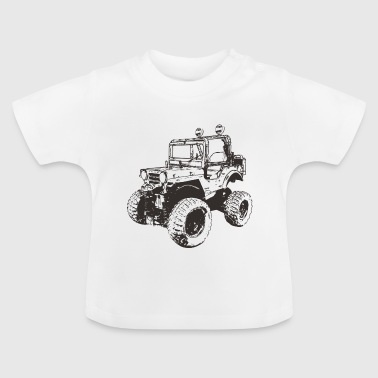 Headlight 4WD SUV - Baby T-Shirt