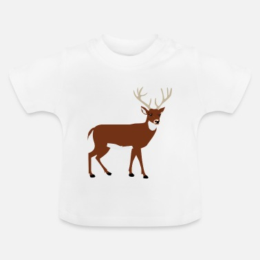 Élan Animal élan - T-shirt Bébé