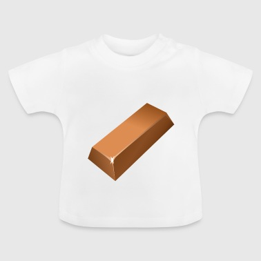 dulces de chocolate dulces chocolate71 - Camiseta bebé