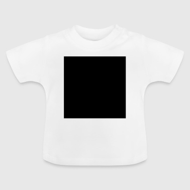 Math symbol - black square - Baby T-Shirt