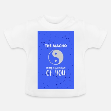 Macho De Macho in mij - Baby T-shirt