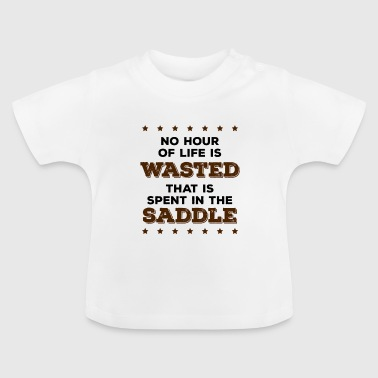 Cowboy, Western, Country Music, Horses, Line Dance - Baby T-shirt