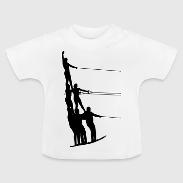 Water skiing water sports - Baby T-Shirt