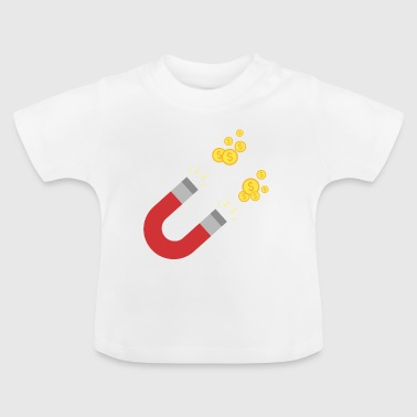 As a magnet for money Sk64m - Baby T-Shirt