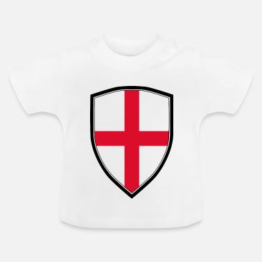 Shield ANGLE FLAG SHIELD - T-shirt Bébé