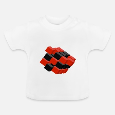 Cubes Cube in Cube - Baby T-Shirt