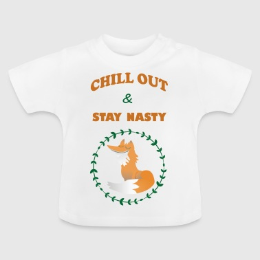 chill out - Baby-T-shirt