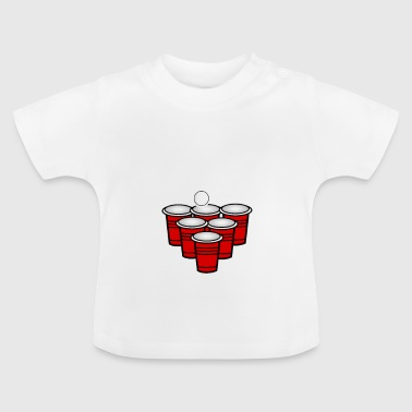Beer Pong the beer pong Babo - Baby T-Shirt