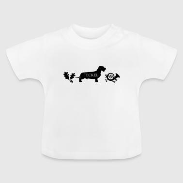 hunting dachshunds - Baby T-Shirt