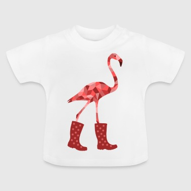 Flamingo rubber boots - Baby T-Shirt