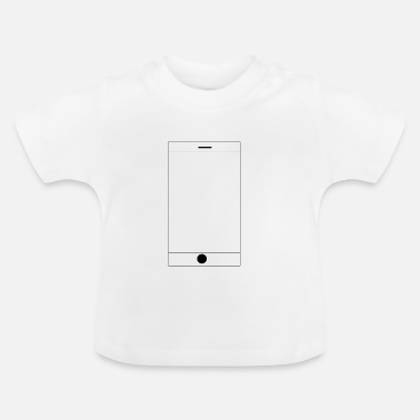 Mobil Telephone mobil - Baby-T-shirt