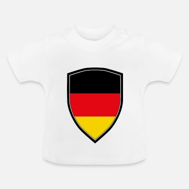 Shield FLAG SHIELD DE L'ALLEMAGNE - T-shirt Bébé