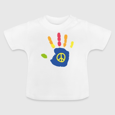Kinderhand (Peace) - Baby T-Shirt