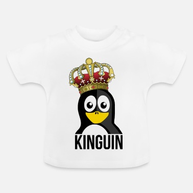 Kungarike Kinguin Penguin Royal Crown Slotts - Baby-T-shirt
